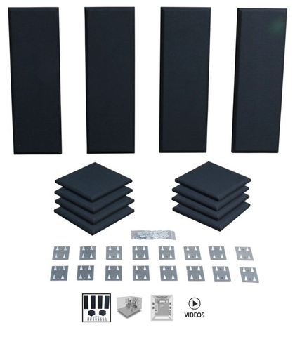 Primacoustic London 8 Acoustic Room Kit - Black