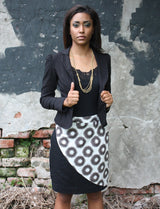 Organic Cotton Cheetah Pencil Skirt - Good Cloth