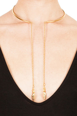 Drop Dagger Choker - Good Cloth