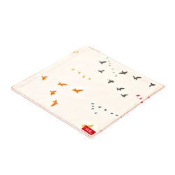 Birds Organic Cotton Poplin and Terry Washcloth - Good Cloth