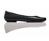 Ballerina Flats in Licorice - Good Cloth