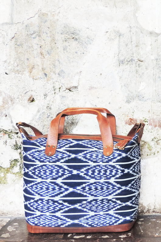 Leguna Weekender in Indigo - Good Cloth