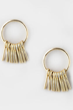 Circle Fringe Studs - Good Cloth