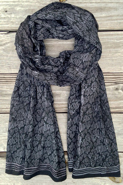 Indigo Dreams Scarf - Good Cloth