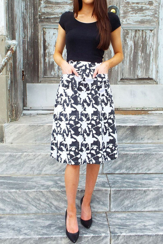 Hawaii Midi Skirt - Good Cloth