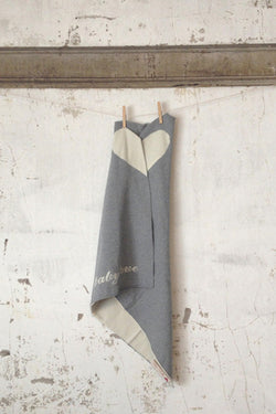 Baby Love Swaddling/Child's Blanket in Soft Grey - Good Cloth