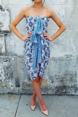 Blue Sarong - Good Cloth