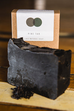 Artisanal Pine Tar Soap - Good Cloth