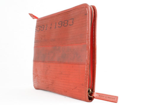 iPad Case in Fire Hose Red - Good Cloth