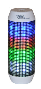 Portable Bluetooth Speaker with LED LIGHT FM/USB/Micro-SD