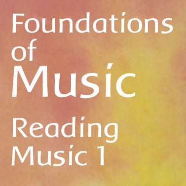 Foundations of Music: Reading 1