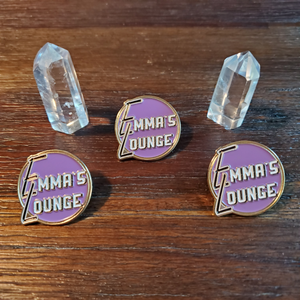 Emma's Lounge Hat Pin