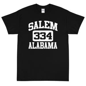 Salem Athletic T-Shirt Black (Larger Sizes, Heavy)