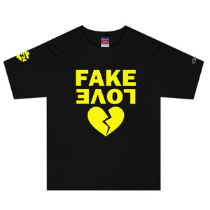 """Fake Love"" Men's Champion Collab T-Shirt"