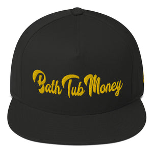 """Yellow Drip"" Flat Bill Cap"