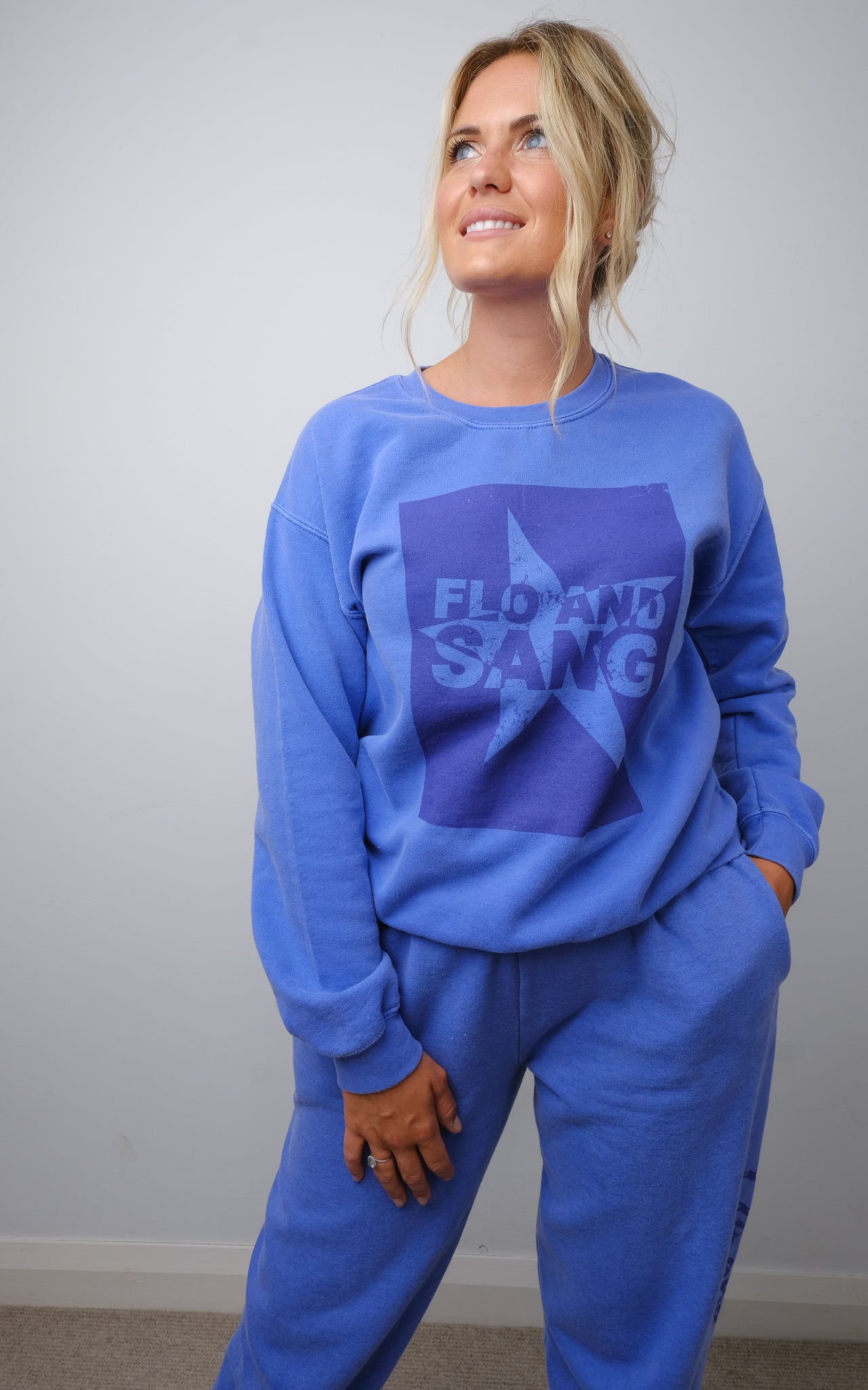 Cobalt Frankie Crew Sweat