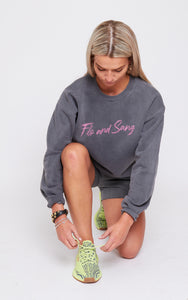 Charcoal Frankie Crew Sweat