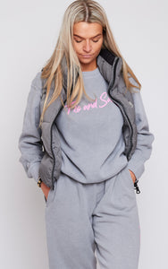 Dove Grey Frankie Crew Sweat