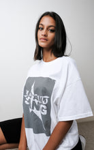Load image into Gallery viewer, Oversized White Dean Tee