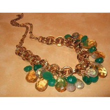 Load image into Gallery viewer, Multi-Gemstone Charm Necklace - butlercollection