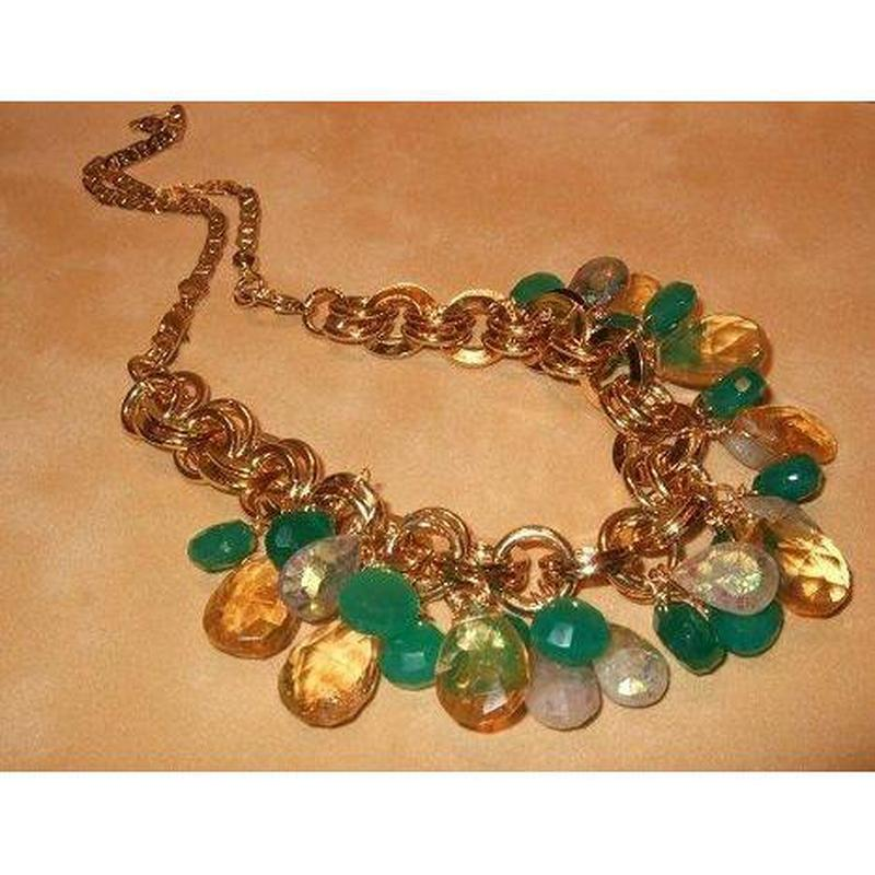 Multi-Gemstone Charm Necklace - butlercollection
