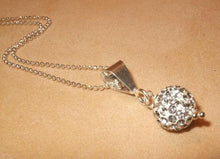 Load image into Gallery viewer, Swarovski Crystal Necklace in Sterling Silver - butlercollection
