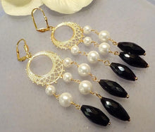 Load image into Gallery viewer, Drop statement earrings