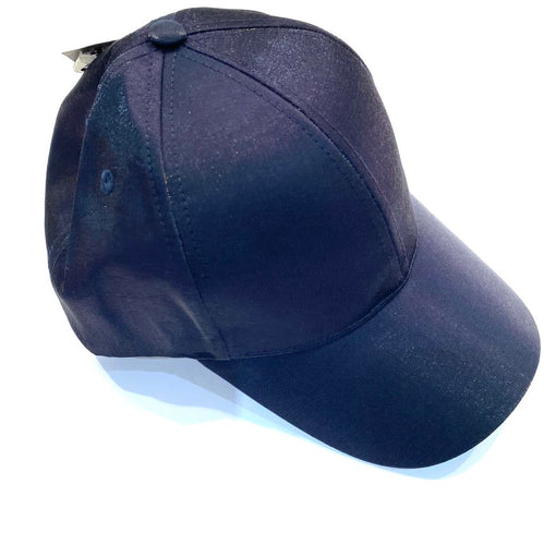 Blue ball cap for woman