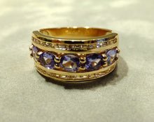 Load image into Gallery viewer, Tanzanite ring