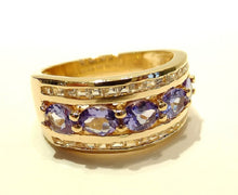Load image into Gallery viewer, tanzanite gemstone ring