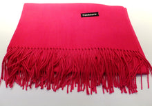 Load image into Gallery viewer, fuchsia cashmere scarf