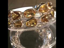 Load and play video in Gallery viewer, Citrine bracelet