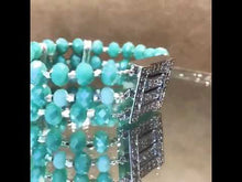 Load and play video in Gallery viewer, Crytsal beaded bracelet