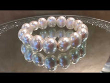Load and play video in Gallery viewer, Stretch Mother of Pearl Bracelet