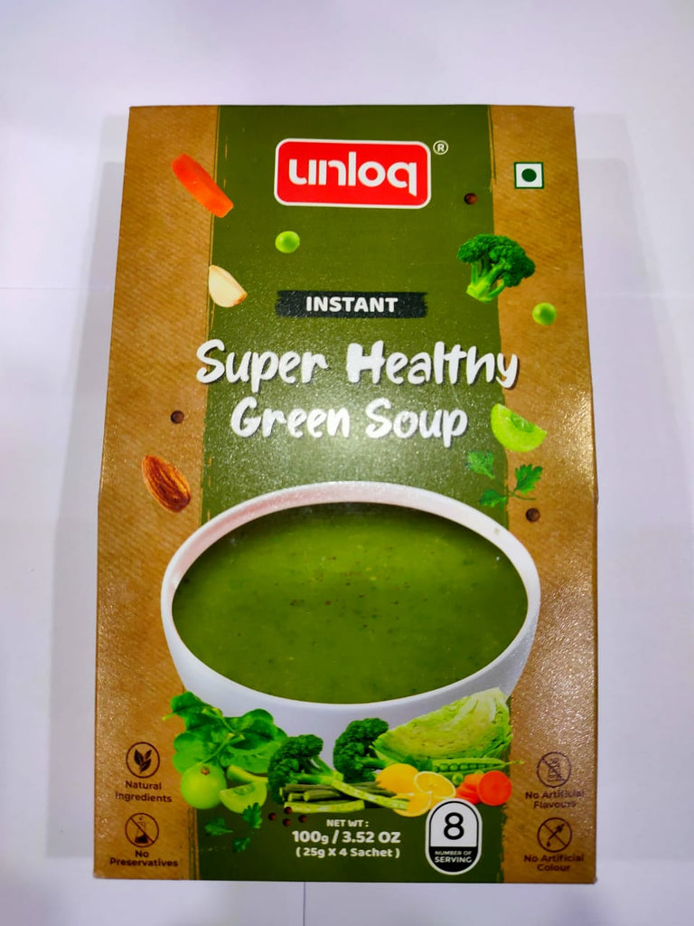 Super Healthy Green Soup - KAAVYA GRUH UDHYOG