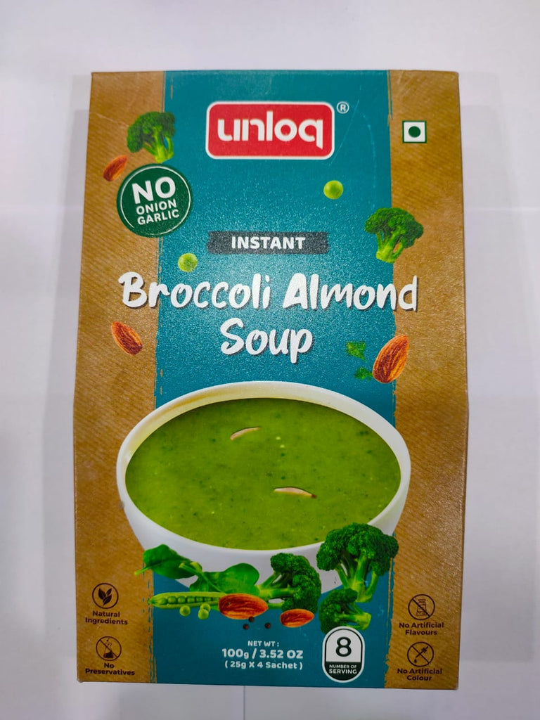 Broccoli Almond Soup - KAAVYA GRUH UDHYOG