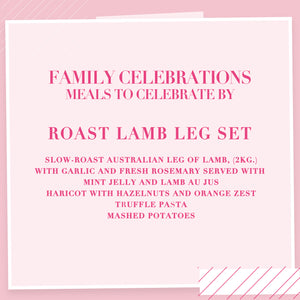 Load image into Gallery viewer, Roast Lamb Leg Set