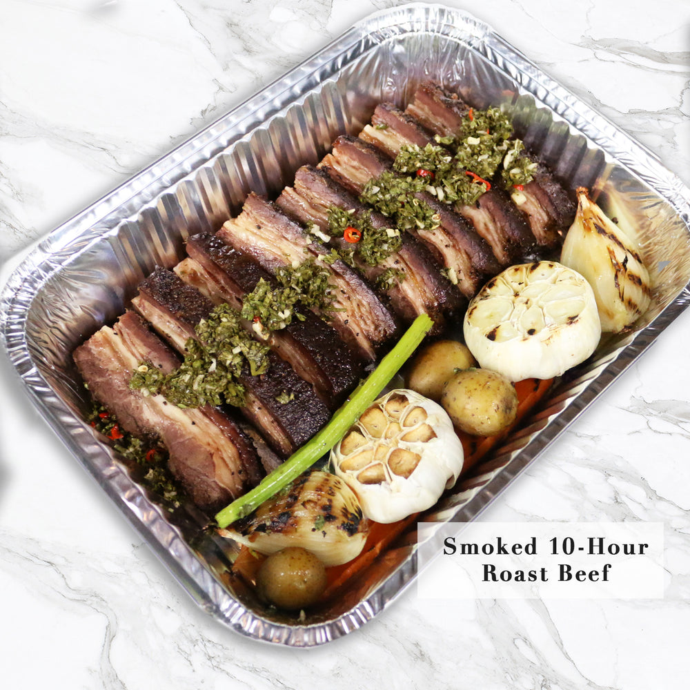 Smoked 10-Hour Roast Beef Set