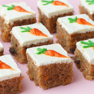 Carrot Walnut Bars