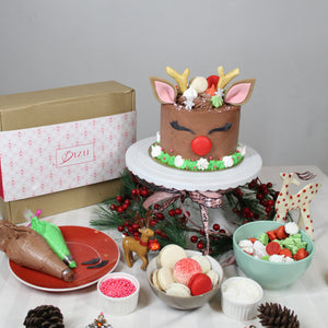 DIY Christmas Reindeer Cake Story Kit