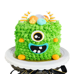 DIY Fuzzy Monster Cake Story Kit