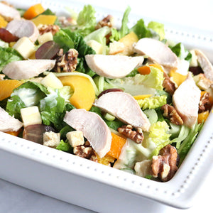 Peach Waldorf Salad