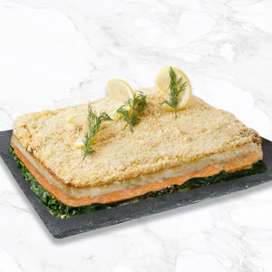 Load image into Gallery viewer, Baked Salmon Rockefeller