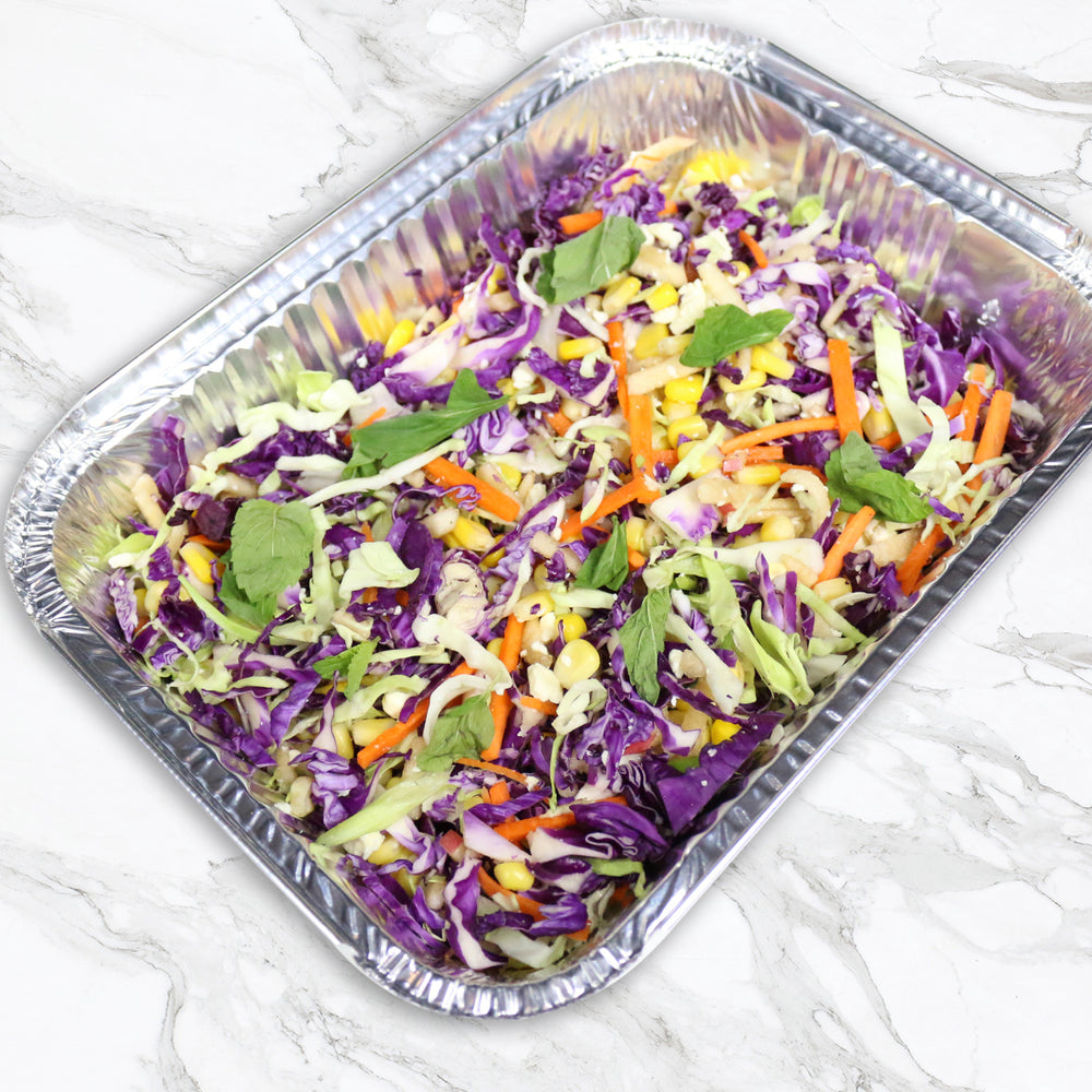 Red Cabbage Slaw with Baby Potatoes