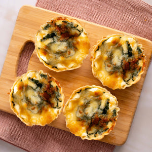 Load image into Gallery viewer, Deep Dish Spinach and Feta Quiche