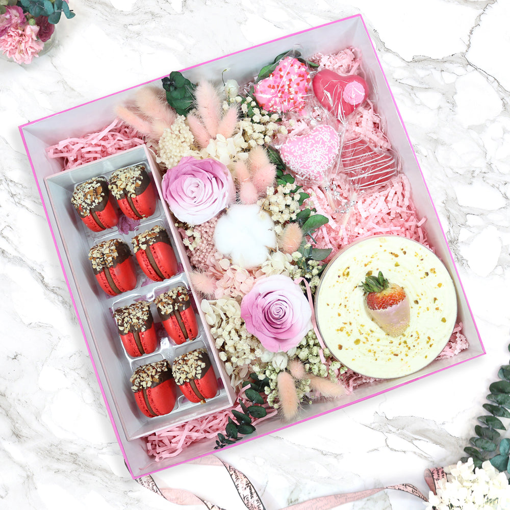 Darling Love Box with Forever Flowers