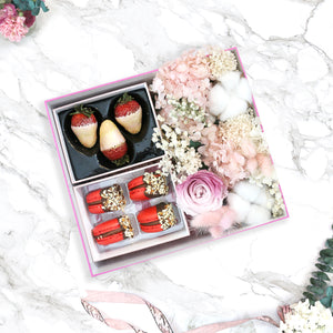 Amour Love Box with Forever Flowers
