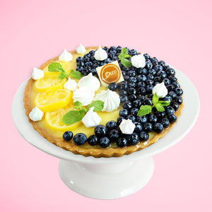 Load image into Gallery viewer, Blueberry Lemon Custard Tart