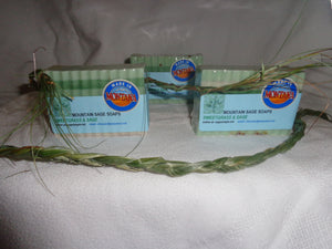 Sweetgrass and Sage Soap