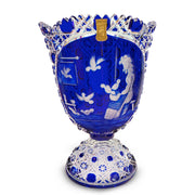 "Blue Vase 2517/EO 314 Cinderella 11"" High"